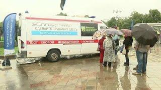 Жители Москвы смогут сделать прививки отгриппа вмобильных пунктах устанций метро.