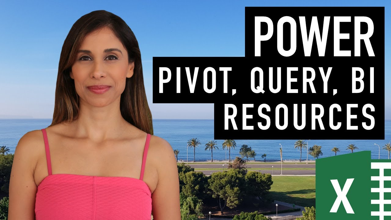 Great Excel Power Query, Power Pivot & Power BI Resources