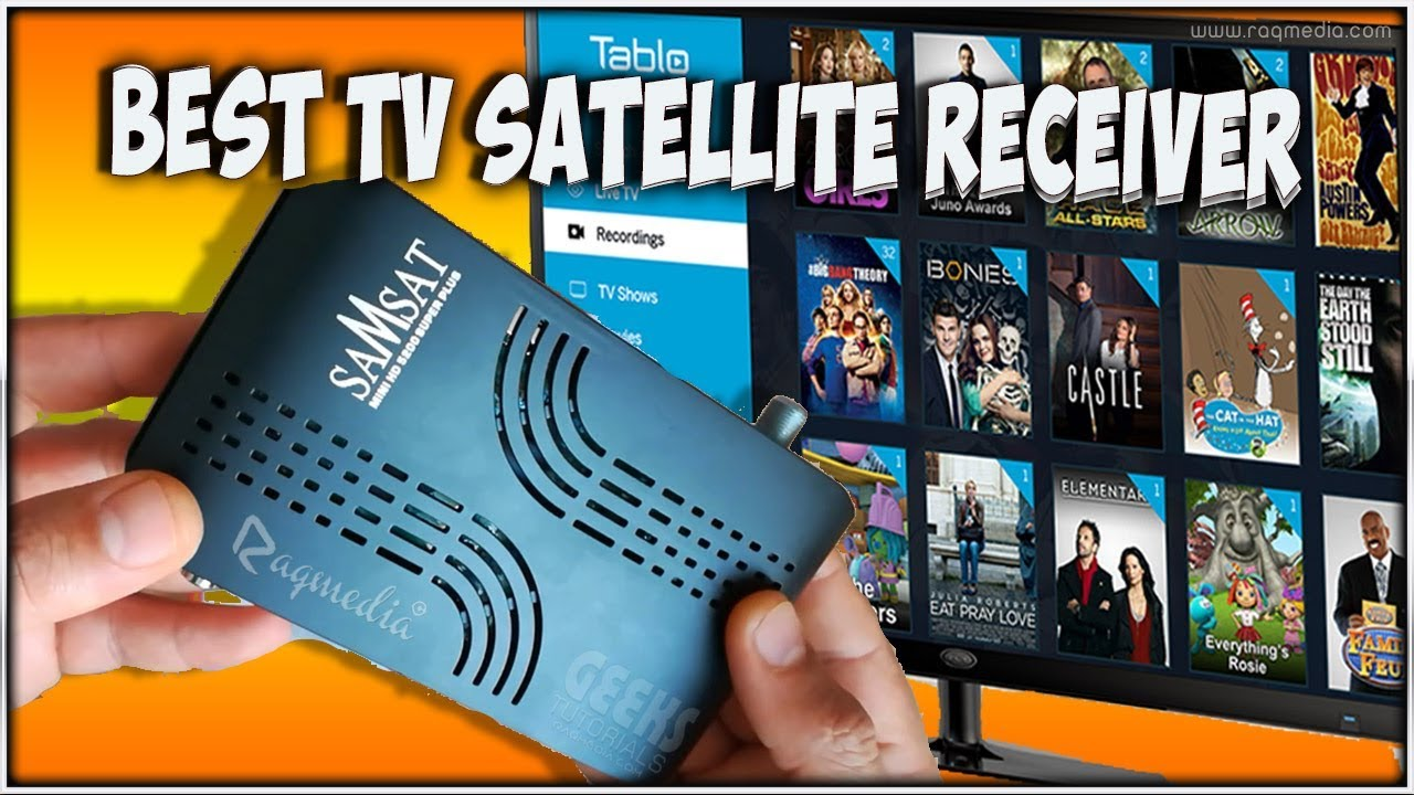 Best TV Satellite Receiver That Has Everything by Raqmedia