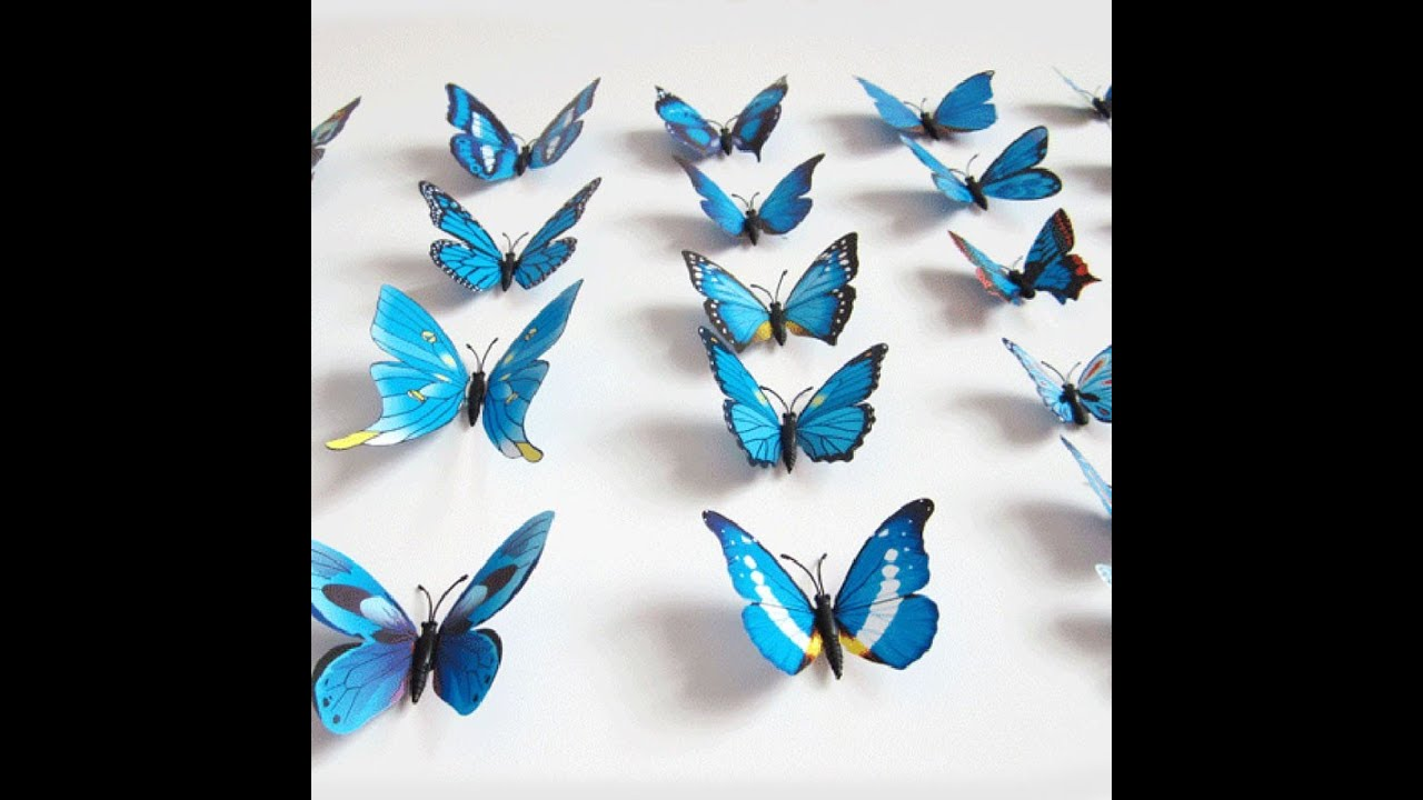 Butterfly Stickers For Bedroom Walls - Fairytale Bedroom ...