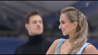 Виктория Синицина Никита Кацалапов Чемпионат Европы 2020 Ритм танец 2 место