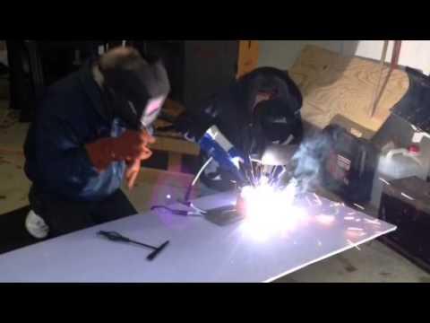 Welding With Northern Tool 125 Amp Flux Core Welder