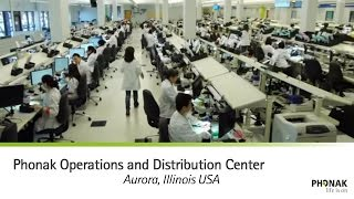 Phonak Aurora Operations and Distribution Center (AODC)