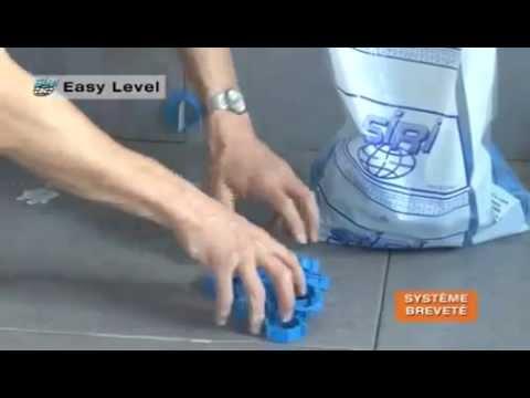 Croisillons auto-nivelants pour carrelages SIRI Easy Level - YouTube
