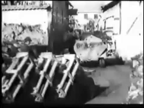 Stuka Zu Fuss Ww2 German Rocket Halftrack Youtube