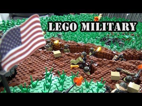 LEGO Vietnam War Battle Of Khe Sanh   BrickFair Virginia 2018
