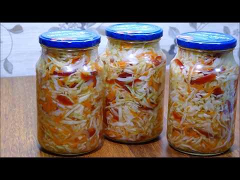 Салат из Капусты с Болгарским Перцем🌶Быстрого Приготовления