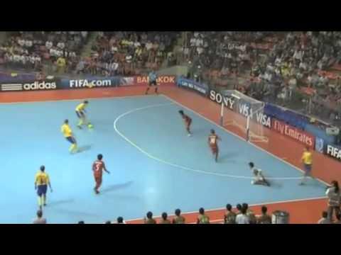 FIFA Futsal World Cup 2012 | Thailand 3 - 5 Ukraine