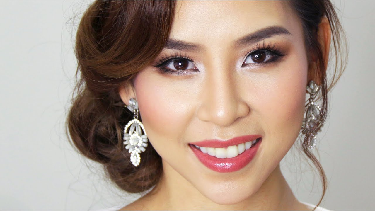 asian How to bridal makeup apply