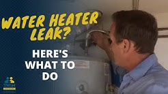 Is your Water Heater Leaking? Here's What To Do!