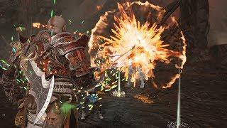 God of War - Hidden Weapon Combos Found - Secrets of Heimdall (Give Me God of War)