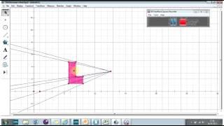 Enlargement with geometers sketchpad