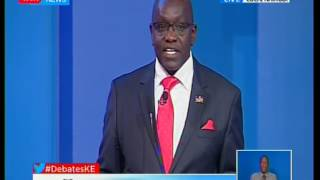 """It's not corruption but theft and is similar to robbery with violence"" Candidate Ekuru Aukot"