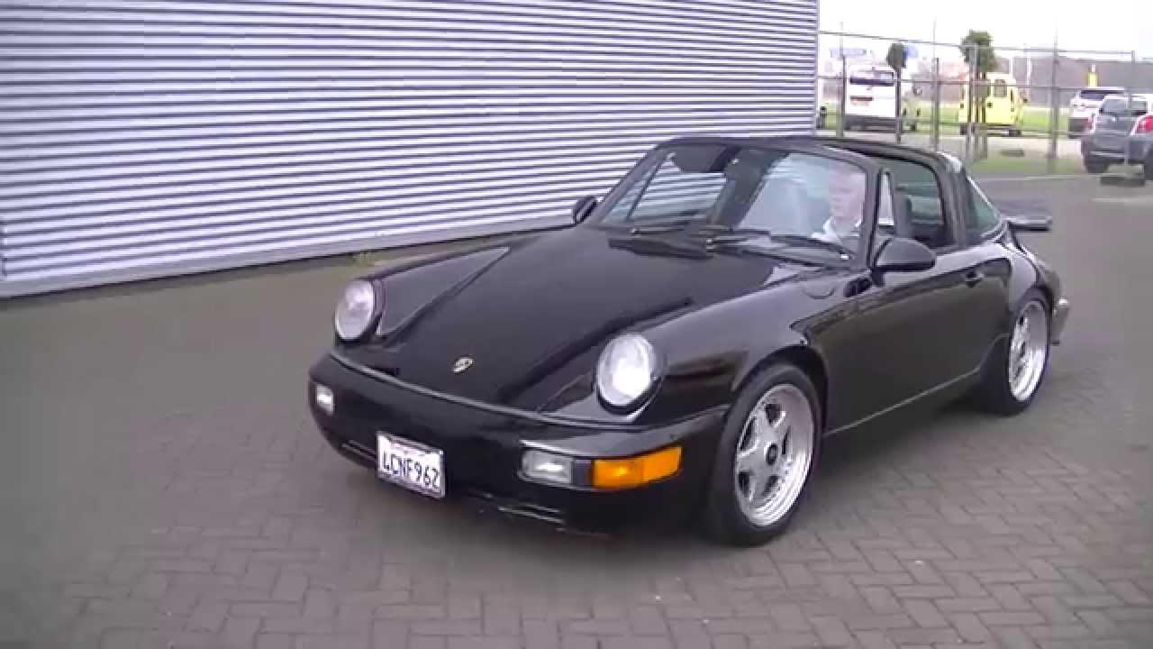 porsche 911 targa 1979 3.0 ltr runs and drives good black -video