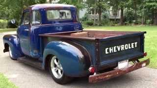 1954 Chevy 5-window pickup custom build. Clear Patina look. 406 Stroker for sale 706-831-1899