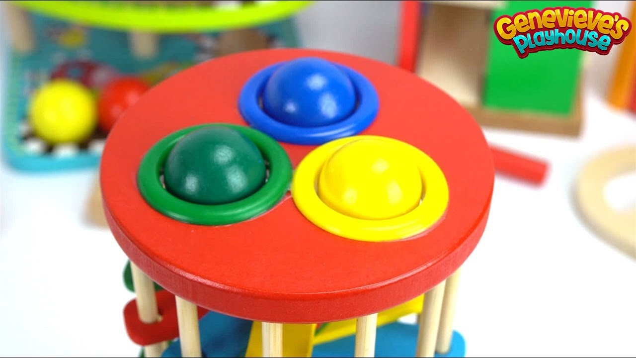 Download Teach Kids with Fun Preschool Toy Ball Pounding Benches!