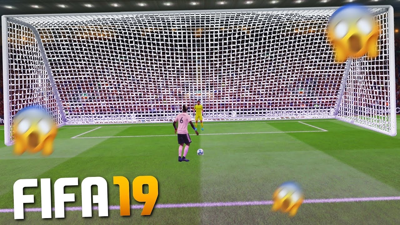 Download PLAYING FIFA 19 WITH HUGE GOALS!