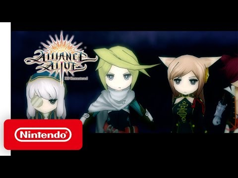 The Alliance Alive HD Remastered - Launch Trailer - Nintendo Switch