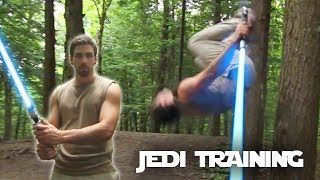 Star Wars Parkour Jedi Training In Real Life