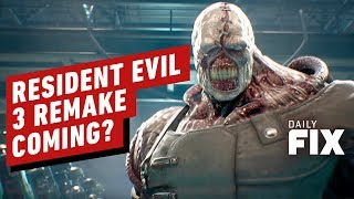 Is A Resident Evil 3 Remake On The Way? - IGN Daily Fix