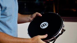 "MEINL Percussion 10"" Pandeiro with Napa Head - PA10ABS-BK-NH"
