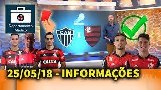 Flamengo vai encarar o Atltico MG com zagueiros formados no clube