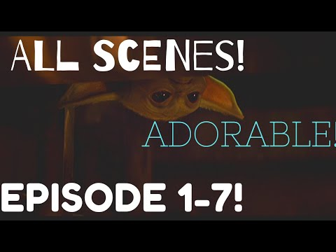 ALL Baby Yoda Scenes From EPISODE 1-7! [1080p Full HD] The Mandalorian!