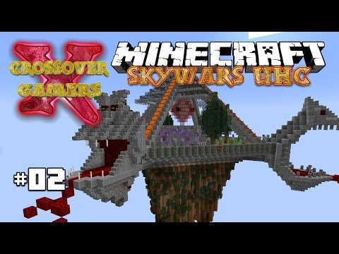 Sieving Like A Boss | Crossover Gamers SkyWars UHC | Ep 2 | Season 2 (Minecraft 1.10.2)