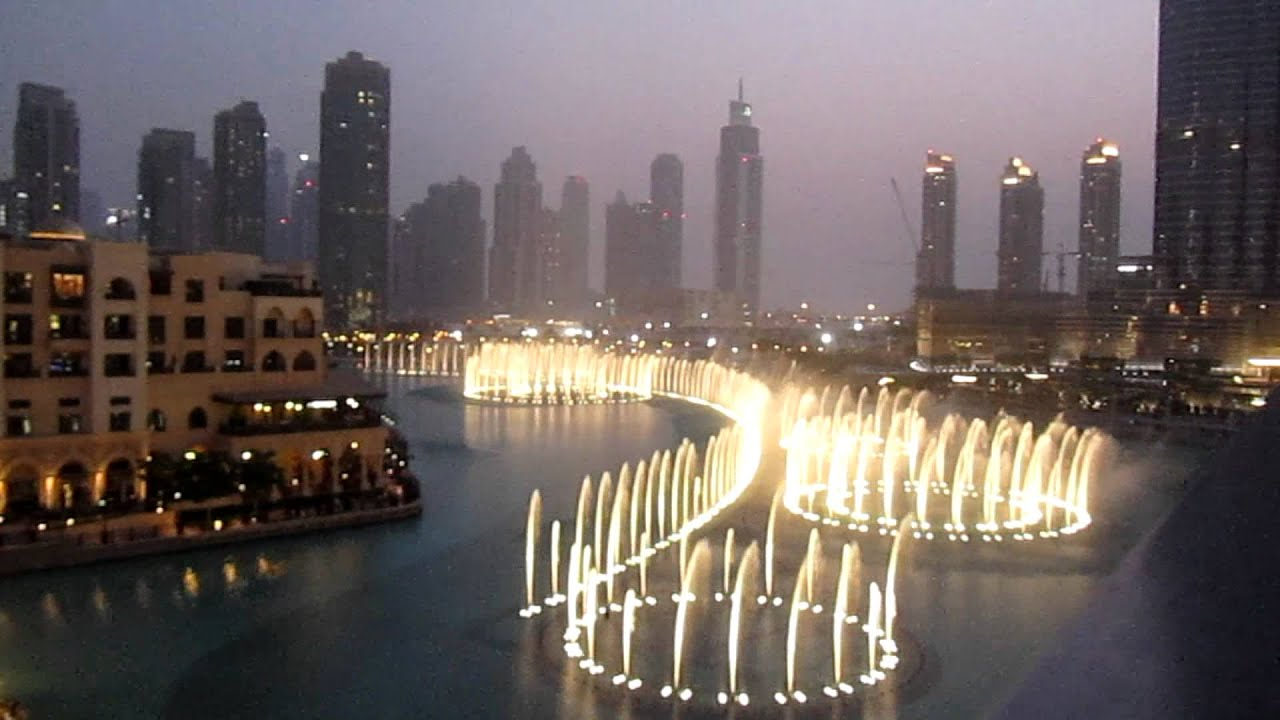 Waterfall Live Wallpaper Hd 3d Dubai Fountains Whitney Houston I Will Always Love You