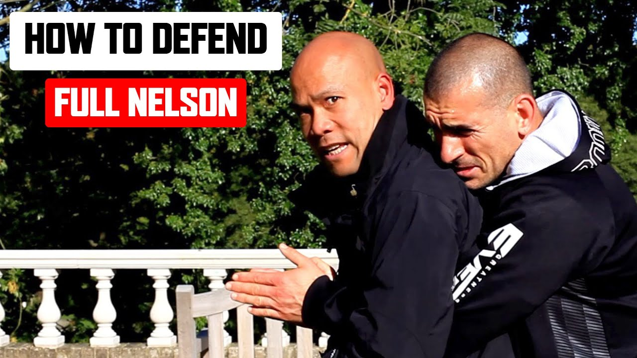 How to Defend the Full Nelson | Wing Chun Combat ✅