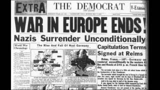 8th May 1945: Victory in Europe Day