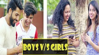 Boys vs Girls || JaiPuru