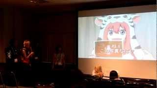 Nihon Kogakuin Voice Acting Anime Expo 2012 part 2