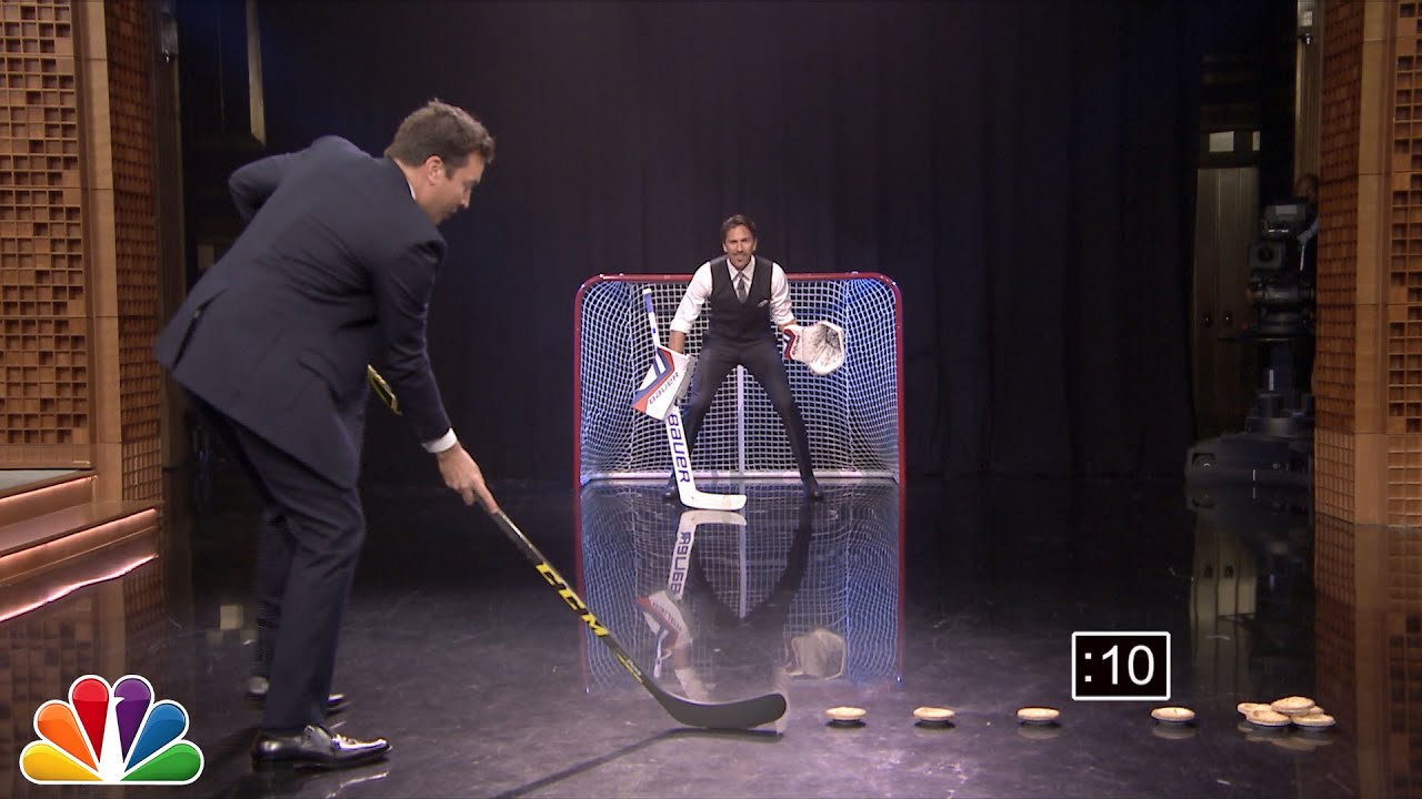 Audience Suggestion Box Henrik Lundqvist Blocks Pies Two Really