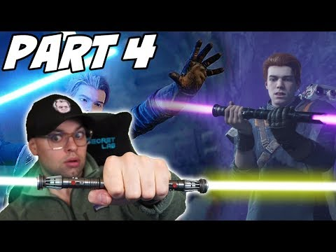 Jedi Fallen Order: Building a NEW Lightsaber on Ilum - PART 4