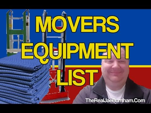 The Basic Moving Equipment You Need To Start Your Moving Business