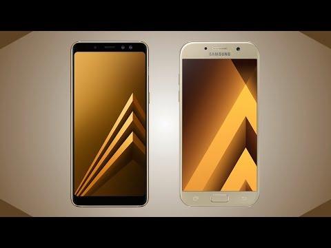 Samsung Galaxy A8 2018 vs Galaxy A5 2017 Comparison