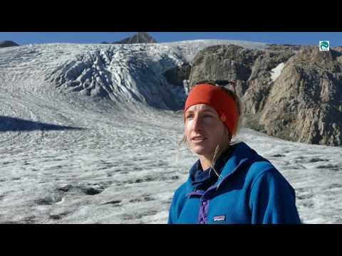 Glacier survey with drone