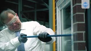 Противовзломные пластиковые окна VEKA (краш-тест)(Купить противовзломные пвх окна Veka в компании