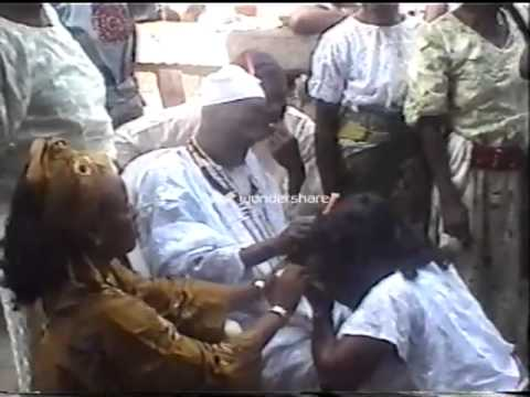Annual Ogun festival at Ile - Oluji,Ondo State, Nigeria. Every August yearly.