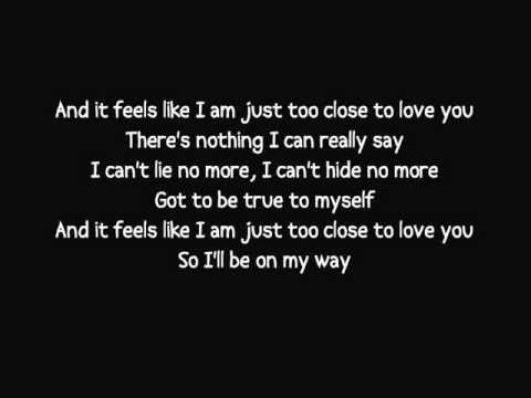 Alex Clare - Too Close lyrics video