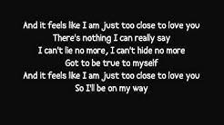 Alex Clare - Too Close lyrics video