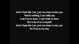 Скачать Alex Clare Too Close Lyrics Video