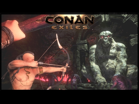 Conan Exiles Gameplay - Ep 4 - Cave Diving! Conan Exiles Let's Play  Conan Exile