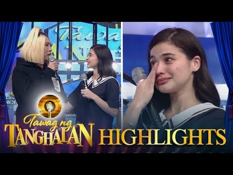 Tawag ng Tanghalan: Anne turns emotional when Vice gives her a heartfelt message