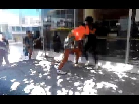 Auckland fight caught on camera (Radio New Zealand)