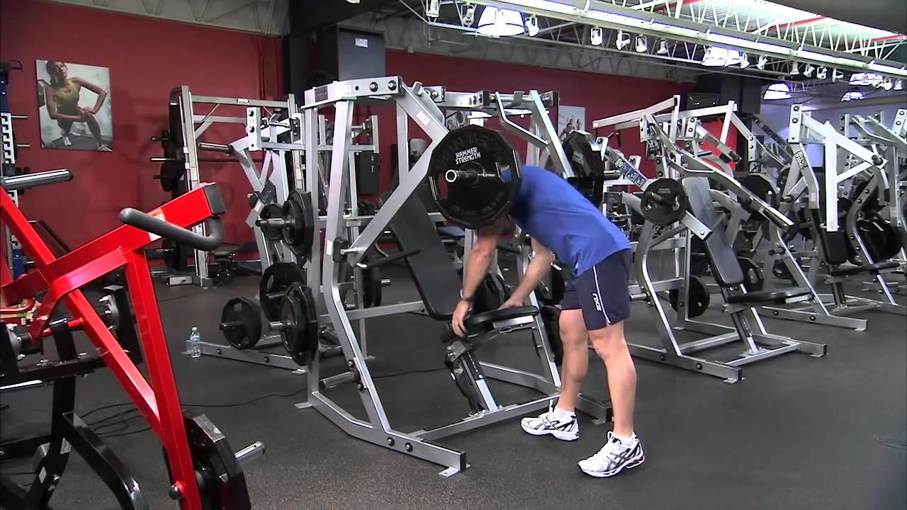 Hammer Strength Plate Loaded Decline Press Instructions