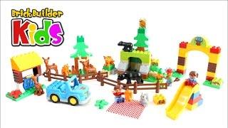 Lego Duplo 10584 Forest: Park - Lego Speed Build For Kids