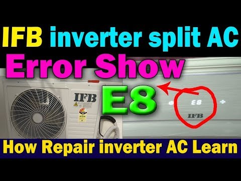 Daikin AC All error codes E5,E6,E7,E8,EA,F3,F6,H6,H8,H9,J3