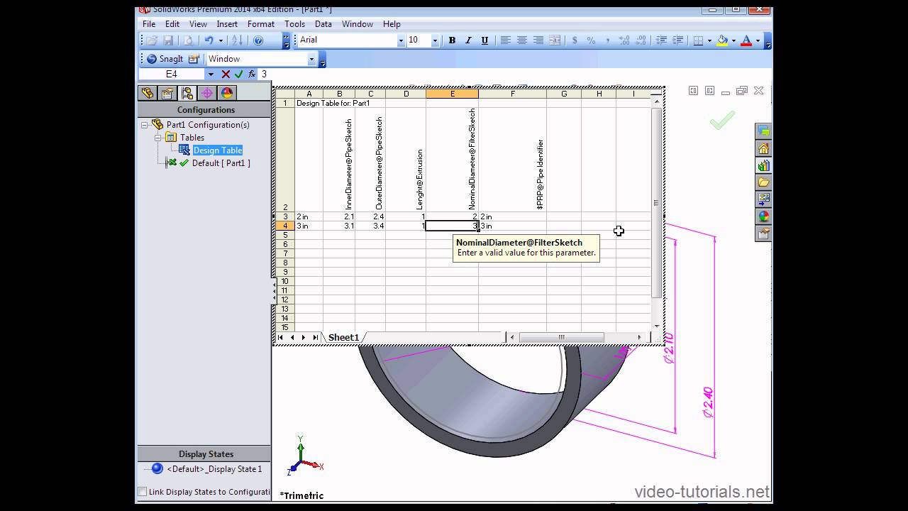 How to create a custom pipe 4 solidworks tutorials routing youtube how to create a custom pipe 4 solidworks tutorials routing ccuart Gallery